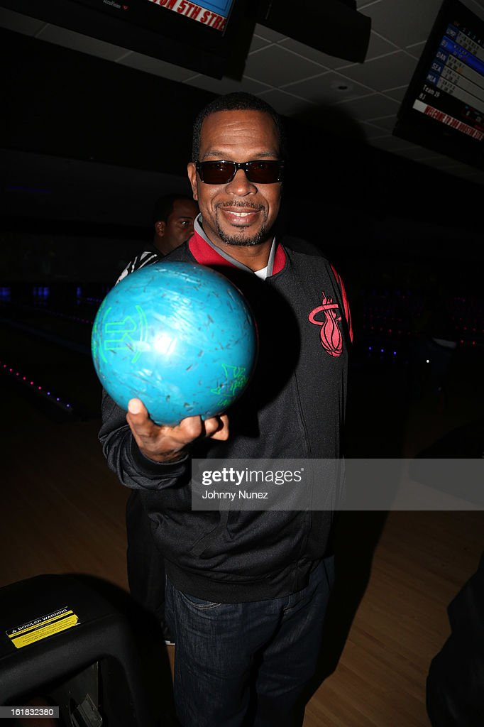 Luther 'Uncle Luke' Campbell attends The King Pin Celebrity Bowling Challenge, hosted by La La Anthony and Fabolous at 300 Houston on February 16, 2013, in Houston, Texas.