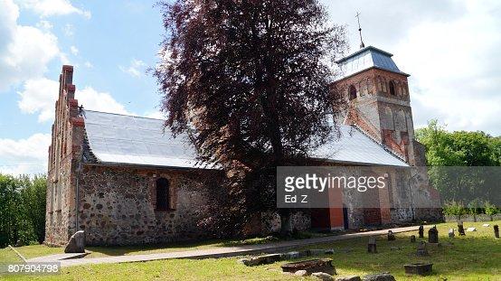 Lutheran Church Grosse Legitten : Foto stock