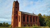 Ruined, Church, Kaliningrad