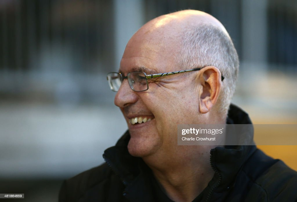 Luton manager John Still during the Skrill Conference Premier match between Dartford and Luton Town at Princes Park on April 01, 2014 in Dartford, England,