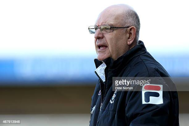 Luton Town manager John Still looks on during the Sky Bet League Two match between Northampton Town and Luton Town at Sixfields Stadium on March 28...