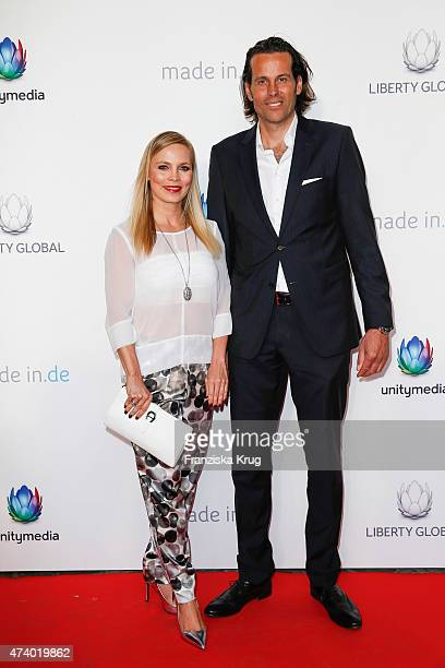 Lutz Schueler and Regina Halmich attend the made inde Award 2015 on May 19 2015 in Berlin Germany