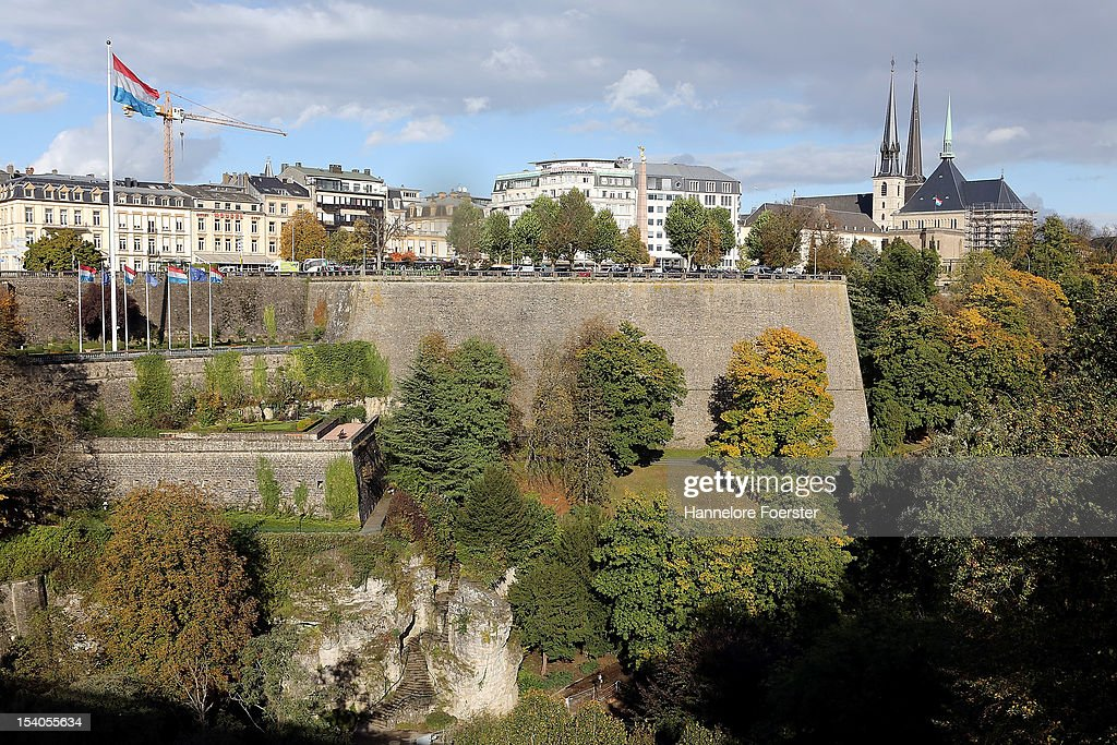 Luxembourg city as Luxembourg prepares for its Royal Wedding on October 12 2012 in Luxembourg Guillaume Hereditary Grand Duke of Luxembourg will...