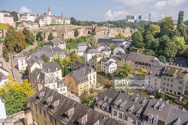 Luxembourg city overview.