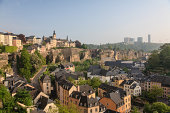 Luxembourg City panorama view