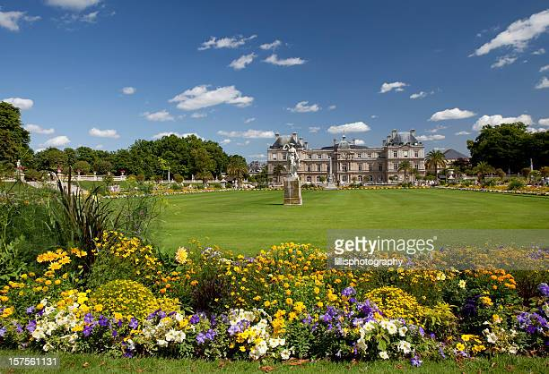 Luxembourg Gardens in Paris France