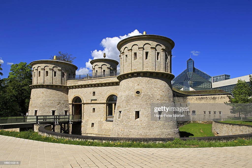 Luxembourg, Kirchberg, Fort Trois Glandes