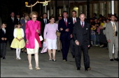 Luxembourg National day in Luxembourg on June 22 2000 Grand Duke Henri of Luxembourg Grand Duchess Charlotte Henri of Luxembourg Maria Teresa and...