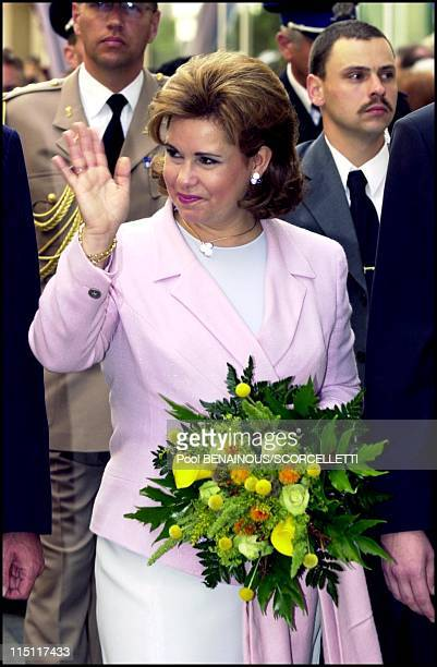 Luxembourg National day in Luxembourg on June 22 2000 Maria Teresa wife of Henri of Luxembourg