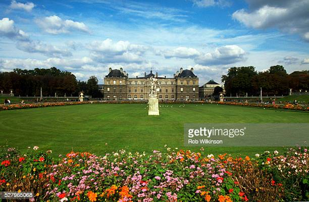 Luxembourg Palace and Gardens in Paris