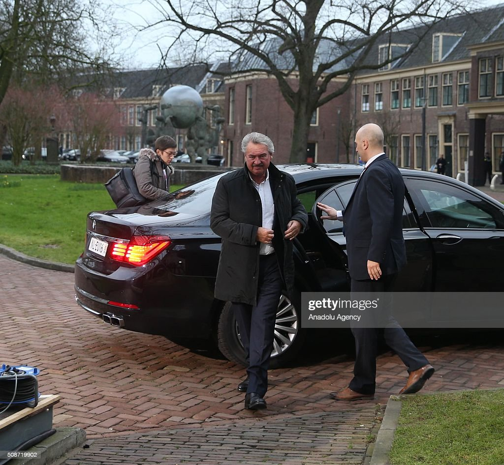 Luxembourg's Minister for Foreign Affairs Jean Asselborn arrives to attend Informal Gymnich meeting of EU foreign ministers in Amsterdam, Netherlands on February 6, 2016.