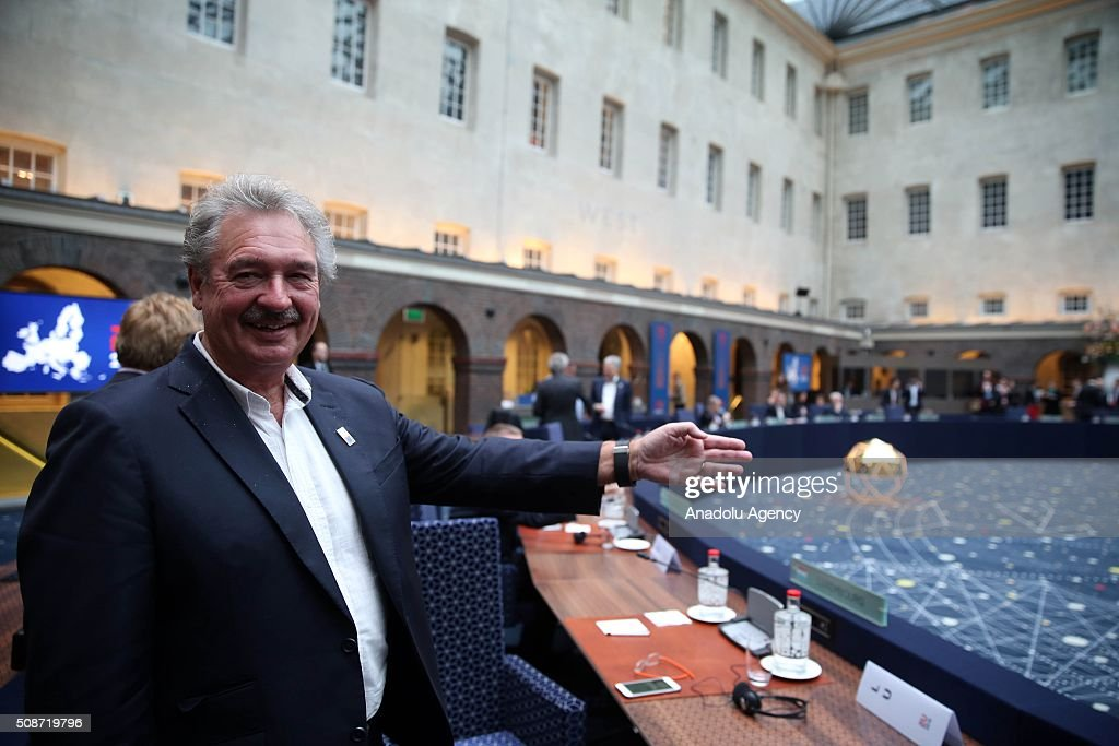 Luxembourg's Minister for Foreign Affairs Jean Asselborn attends Informal Gymnich meeting of EU foreign ministers in Amsterdam, Netherlands on February 6, 2016.