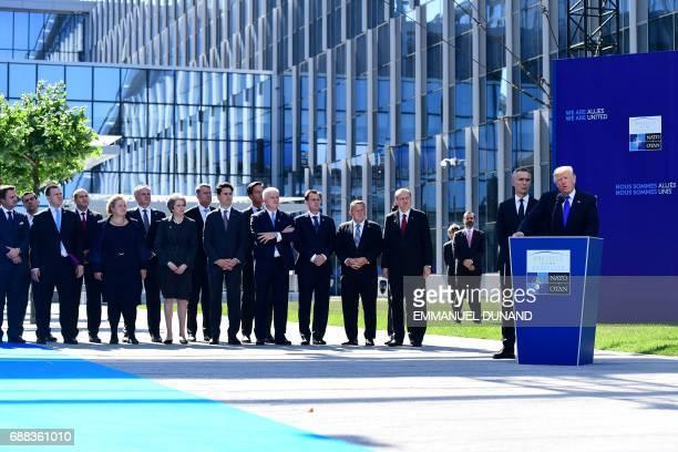 Luxembourg's Prime Minister Xavier Bettel Greek Prime Minister Alexis Tsipras Estonia's Prime Minister Juri Ratas Bulgaria's President Rumen Radev...