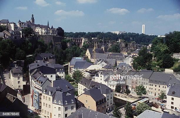 Luxemburg Stadt Vorstadt Grund undOberstadt 1994