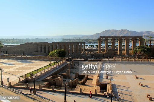 Temple Of Luxor Stock Photos and Pictures | Getty Images