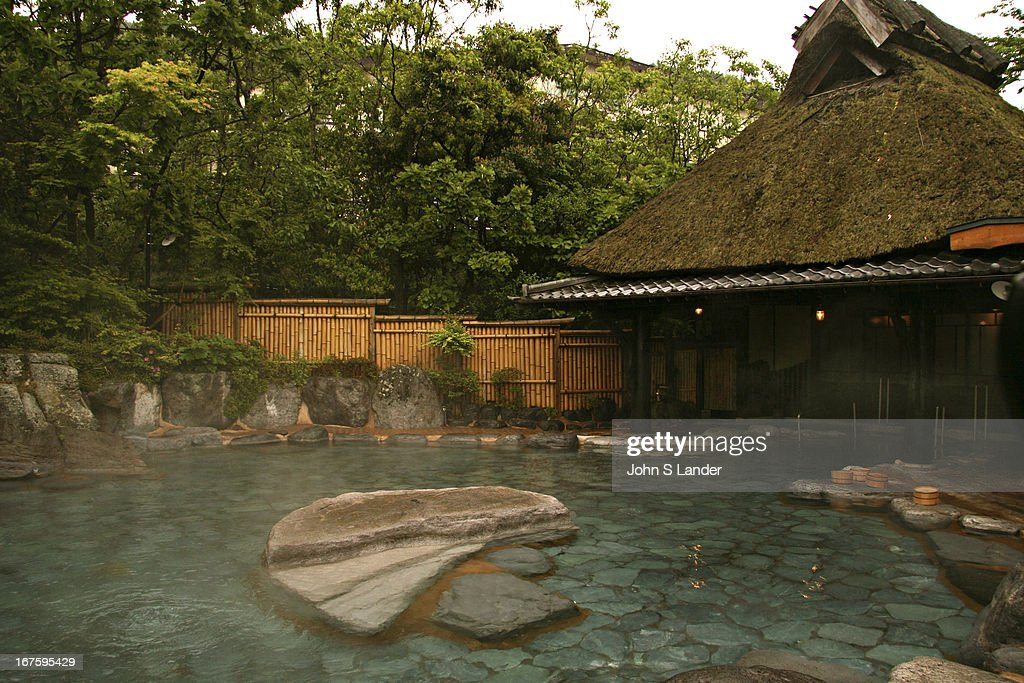 Luxurious bathing at Musoen Onsen near Beppu While Beppu is known for its many Jigoku or 'hells' they are strictly for admiring as they are too hot...