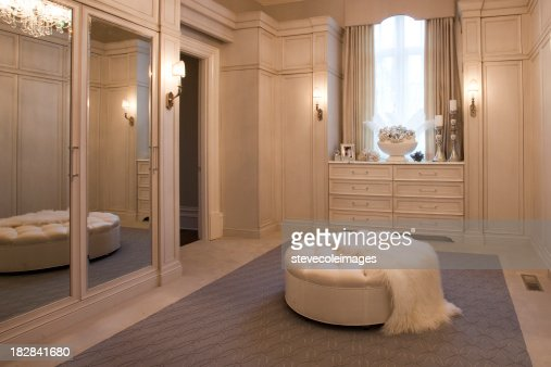Luxurious Dressing Room In A Home Stock Photo  Getty Images