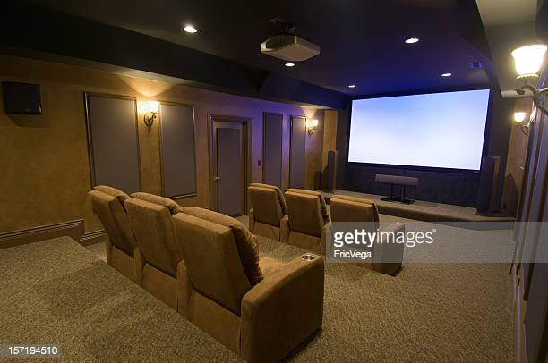 Luxurious Home Theater Room