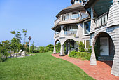 Luxurious house exterior