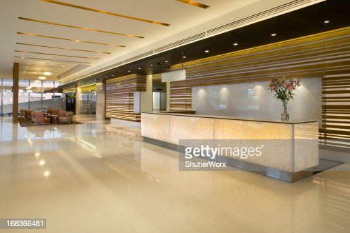 Luxurious Modern Lobby With Waiting Area
