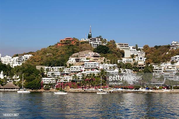 Luxurious seaside villas, Manzanillo, Mexico
