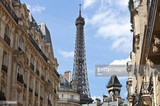 豪華なアパートメント、エッフェル塔,パリ,フランス