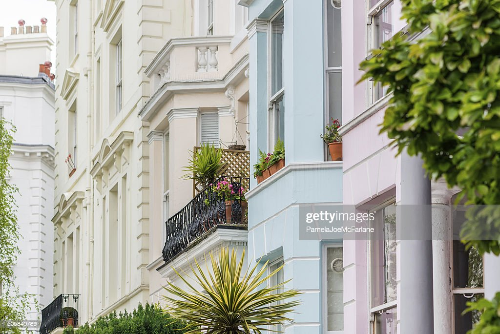 Luxury Apartments In Residential Area Of London : Stock Photo
