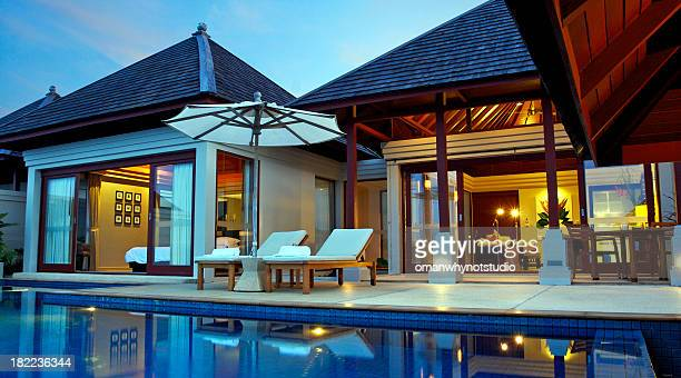 Luxury Asian Style Pool Villa