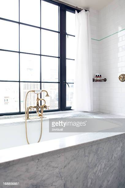 Luxury Bath at Bowery Hotel New York City