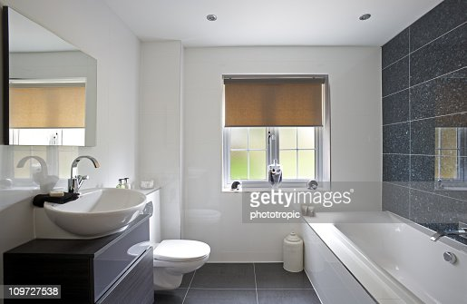 luxury bathroom : Stock Photo