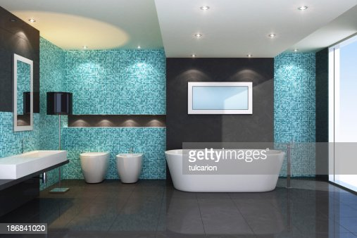 luxury bathroom stock photo - Luxury Bathroom