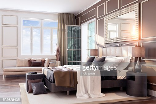 Similar images. Sunset Bauhaus Bedroom Interior Stock Photo   Getty Images