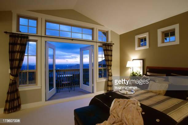 luxury bedroom estate home