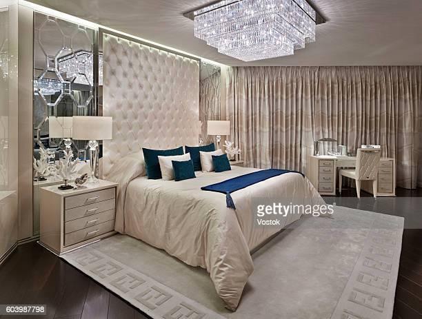 Luxury bedroom in london apartment