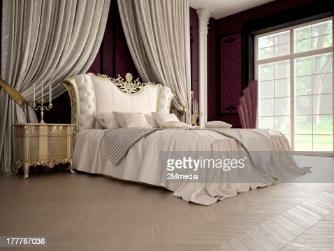 luxury bedroom : Stock Photo