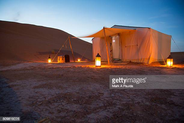 Luxury Camp in Sahara Dunes