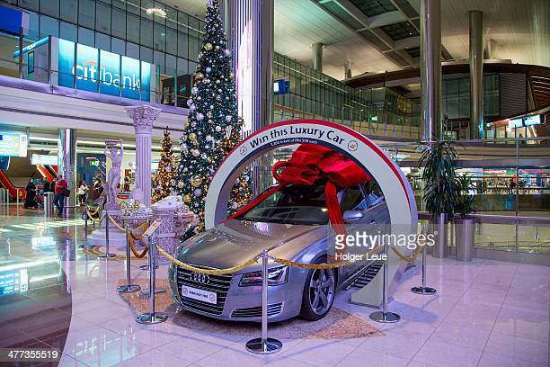 Luxury car raffle at Dubai International Airport