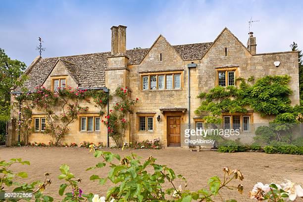 Luxus englische Haus in Absplittern Campden, den Cotswold, England, Großbritannien.