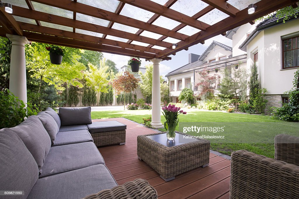 Luxury Garden Furniture : Stock Photo