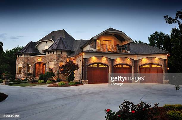 Luxury Home in The Evening