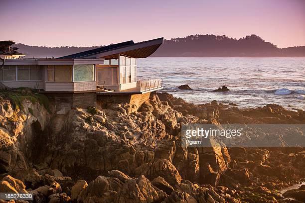 Luxuriöses Heim Blick auf die Big Sur Küste und das Meer