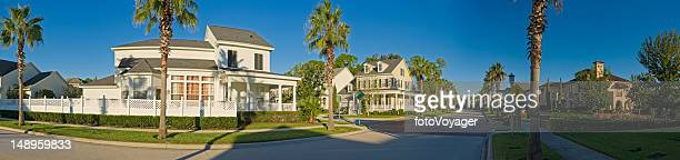 Luxury homes tranquil suburbs