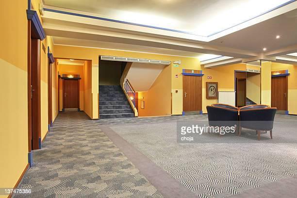 Couloir de l'hôtel de luxe