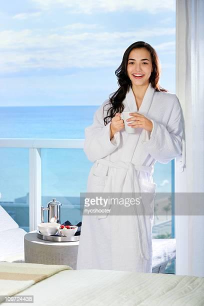 Luxury hotel experience