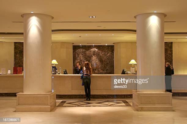 Luxuriöse Hotel-Lobby