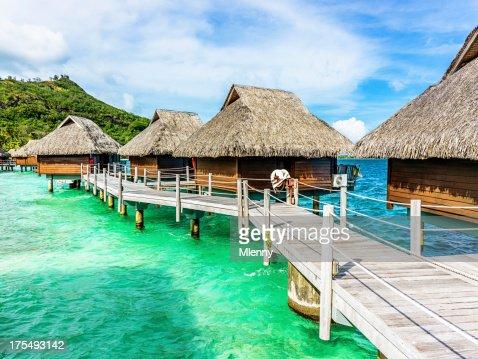 高級ホテル&リゾートのビーチハッツ領ポリネシア)