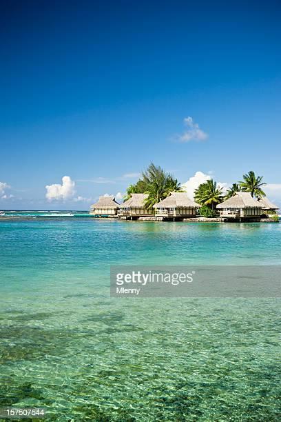 Luxury Hotel Resort in Paradise Lagoon