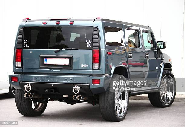 A luxury Hummer car on May 06 2010 in Bregenz Austria