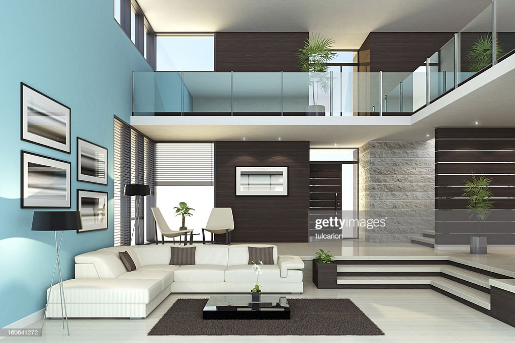 Luxurious Penthouse Dramatic Interior Luxury Interior Penthouse Stock Photo Getty Images