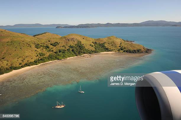 Luxury island hotel Qualia on July 9 2009 in Hamilton Island Queensland Australia Qualia hosts some of the most exclusive guests from around the...